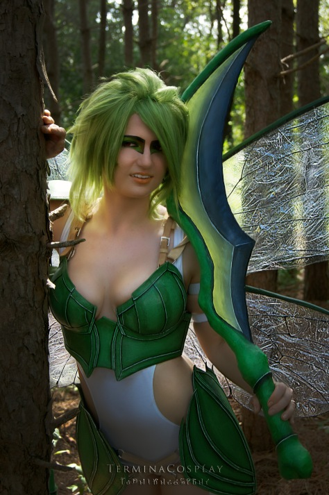 Cosplay: Scyther Photographer: Vordigon Photography Model: Termina Cosplay