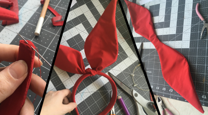 Costume Tutorials: Gravity Defying Hair Bows
