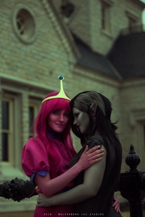 Marceline and Bubblegum - Adventure Time