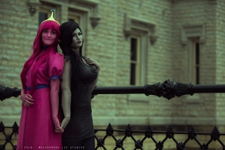 Marceline and Bubblegum - Adventure Time