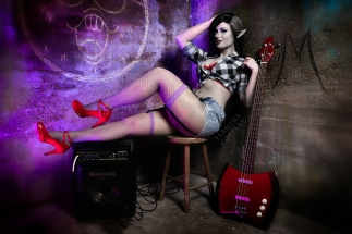 Pin Up Marceline - Adventure Time
